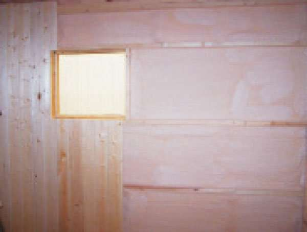 We can insulate just the tack room or loft or we can do the whole barn with our spray foam insulation.